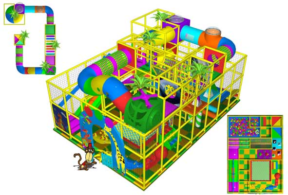 indoor Play Equipment 100-180-006