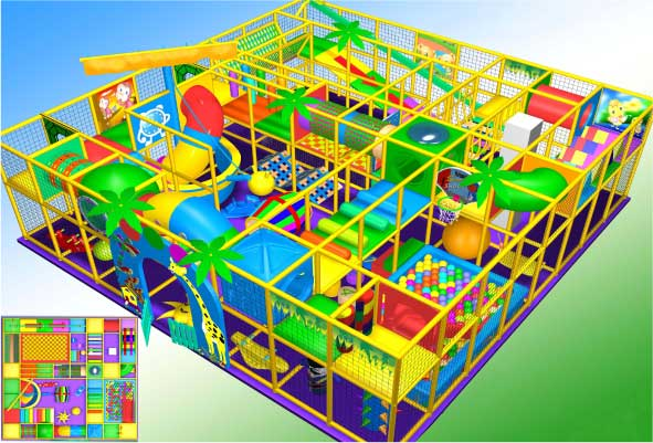 indoor Play Equipment 100-180-007
