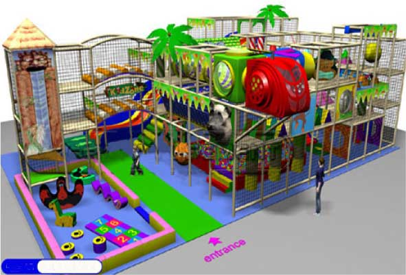indoor Play Equipment 100-180-011