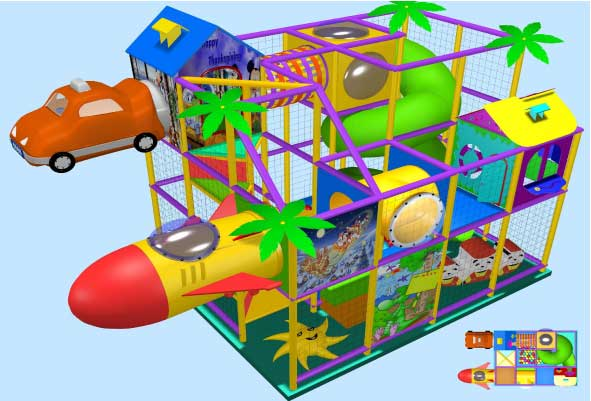 indoor Play Equipment 35-100-007