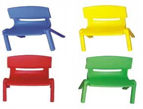 Fish rocker for indoor play centres