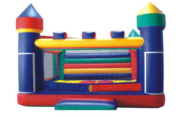 Indoor jumping castles