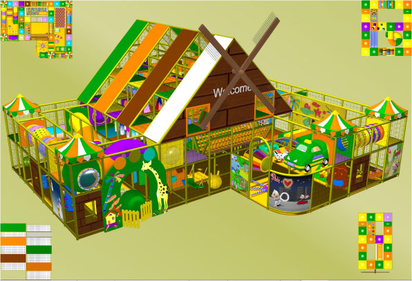 Windmill City indoor play equipment 270-008