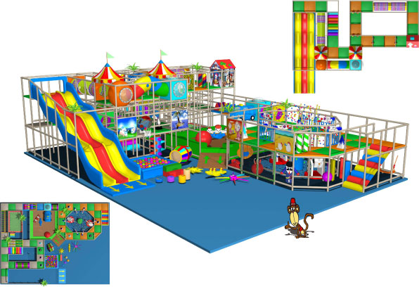 Fun times indoor playgrounds 270 009 for Indoor playground design ideas
