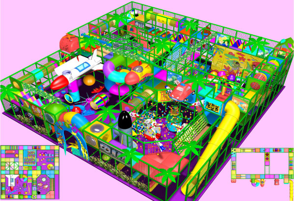Indoor Playgrounds designed for unusual indoor play centre areas
